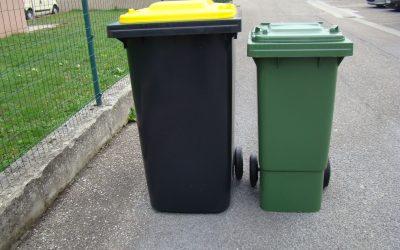 Calendrier des ordures ménagères