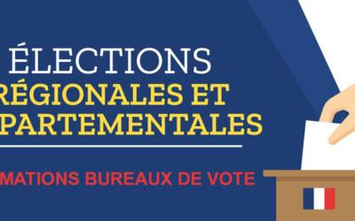 ELECTIONS : informations bureaux de vote